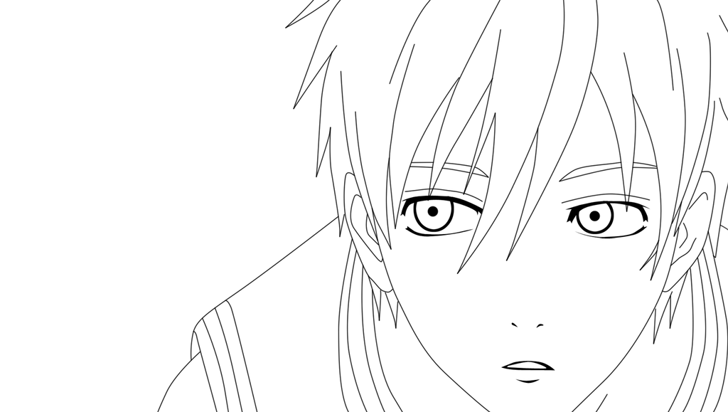 Line Art Kuroko : Kuroko lineart by samukassss on deviantart