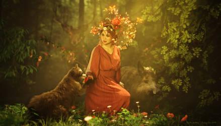 Earth Goddess by IndigoTea