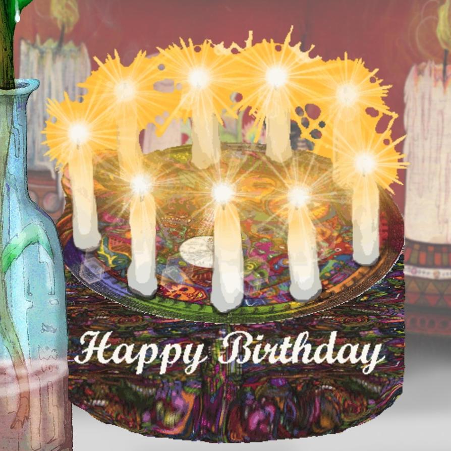 Cake Gift Images : Free birthday cake Stock gift by CReevesABudd on DeviantArt