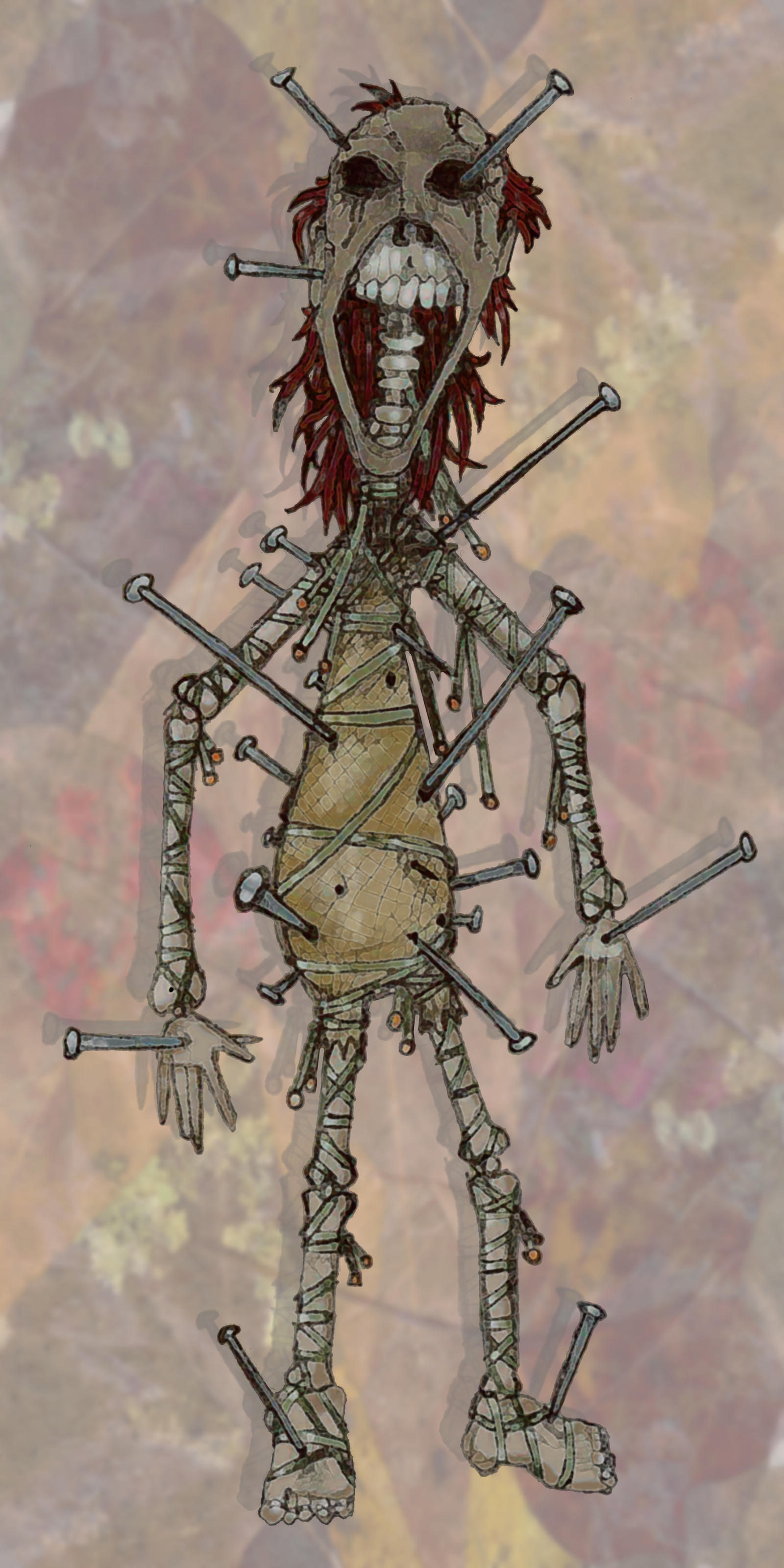 Ancient Voodoo Doll by CReevesABudd on DeviantArt