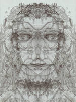 Folded Space Goddess by CReevesABudd