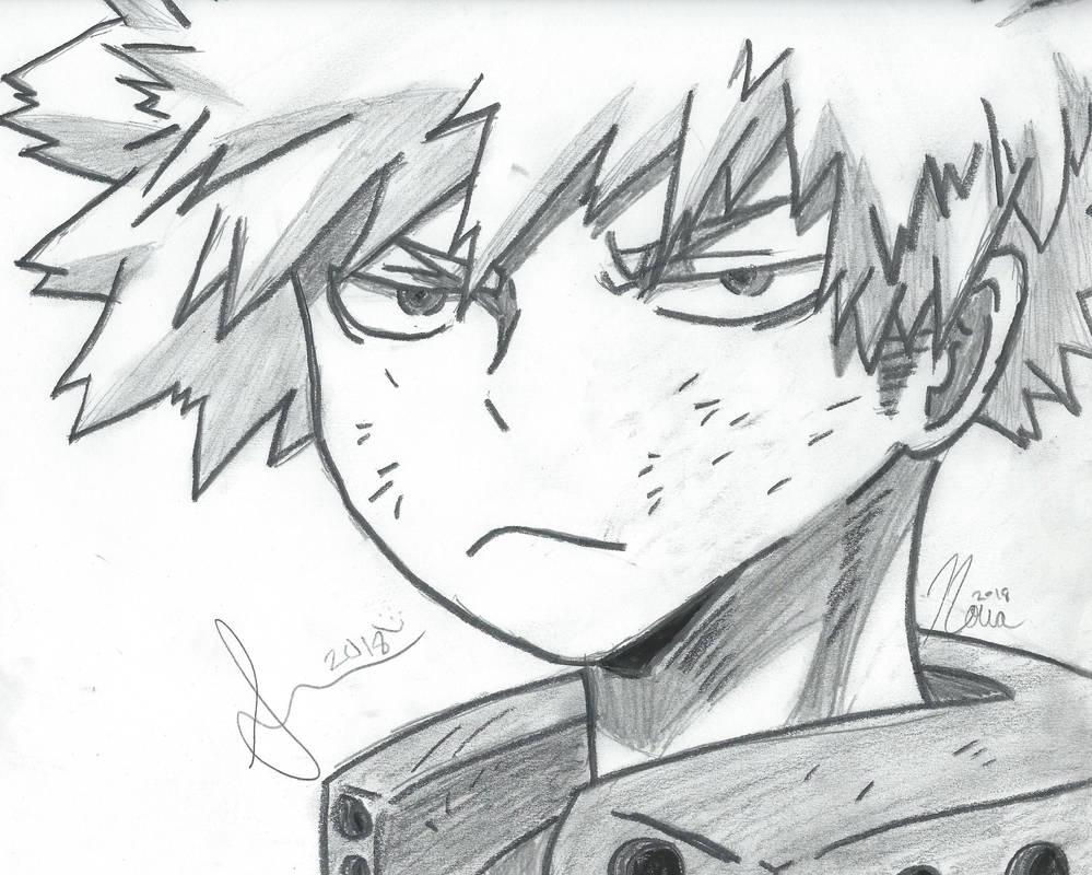 Hand Grayscale: Bakugou Katsuki [BNHA]