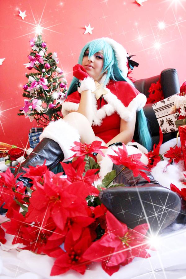 Merry Christimas - Hatsune Miku by JuTsukinoOfficial