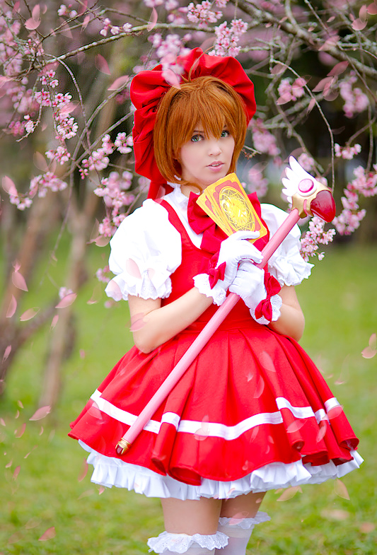Sakura Kinomoto cosplay by LollipopBunnie
