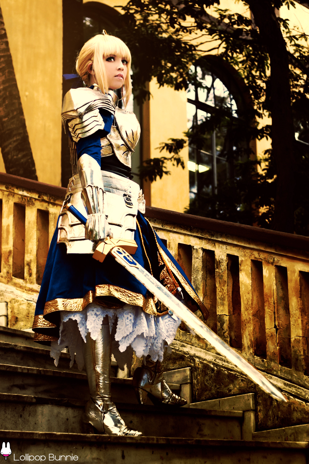 Saber from Fate Stay Night by JuTsukinoOfficial