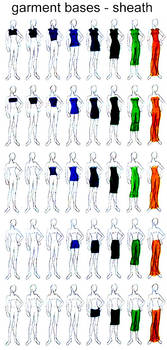 Clothing Design Ref 1 Sheaths