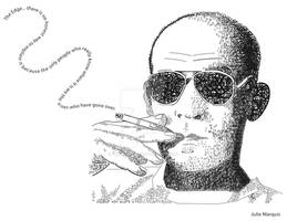 Hunter S. Thompson Typography