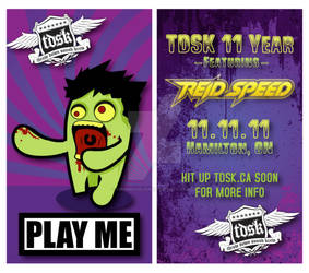 TDSK 11 Year Party Pre-Flyer