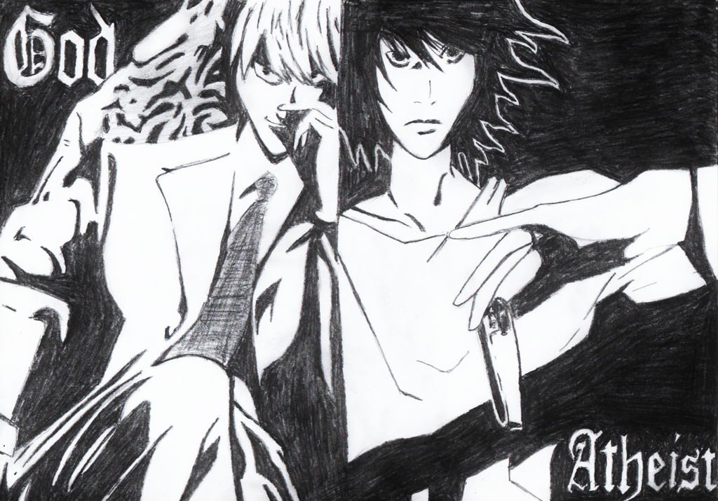light note light yagami and l lawliet note by mirror de on 234