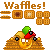 Who's owner of the waffles by de-Mote