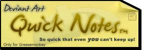 Quick Notes Logo by de-Mote