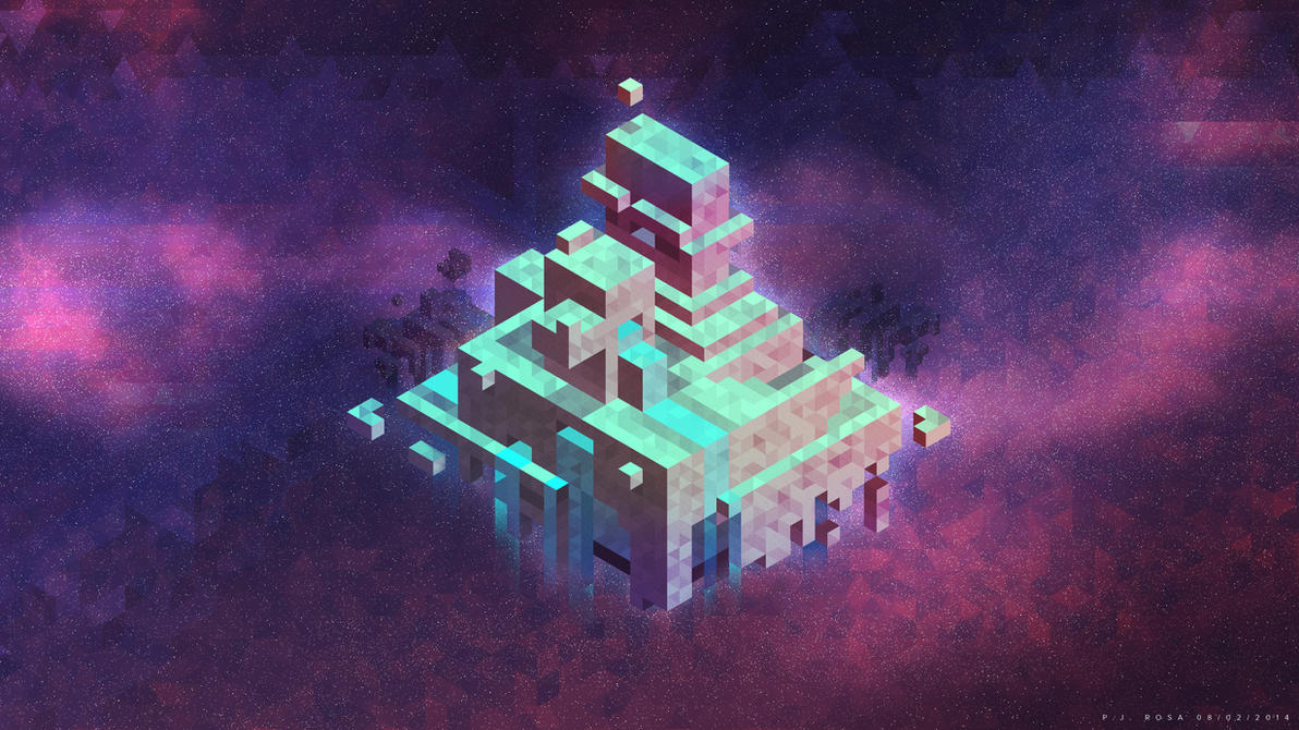Hexels in Space by de-Mote