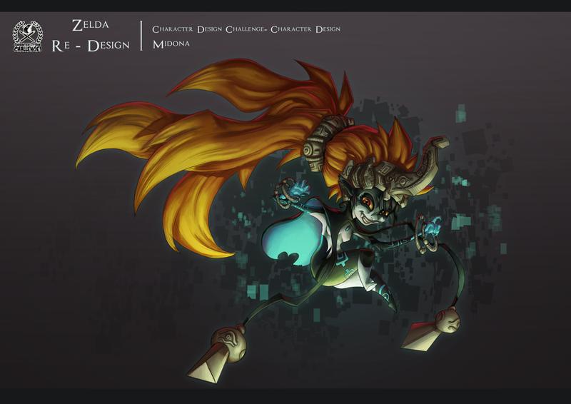 Character Design Challenge Zelda : Character design challenge zelda theme by kyusekai on
