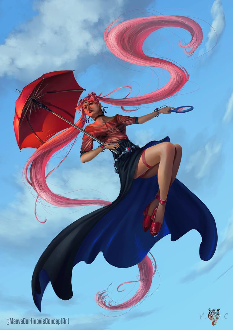 Character Design Challenge Sailor Moon : Character design challenge sailormoon by kyusekai on