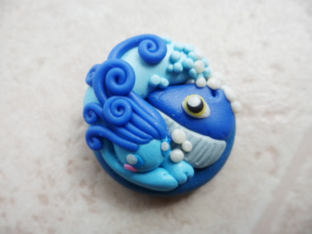Water Elemental Pendant by Saru-Hime