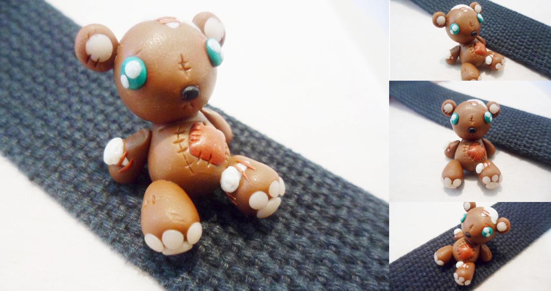 Torn Little Teddy Bear by Saru-Hime