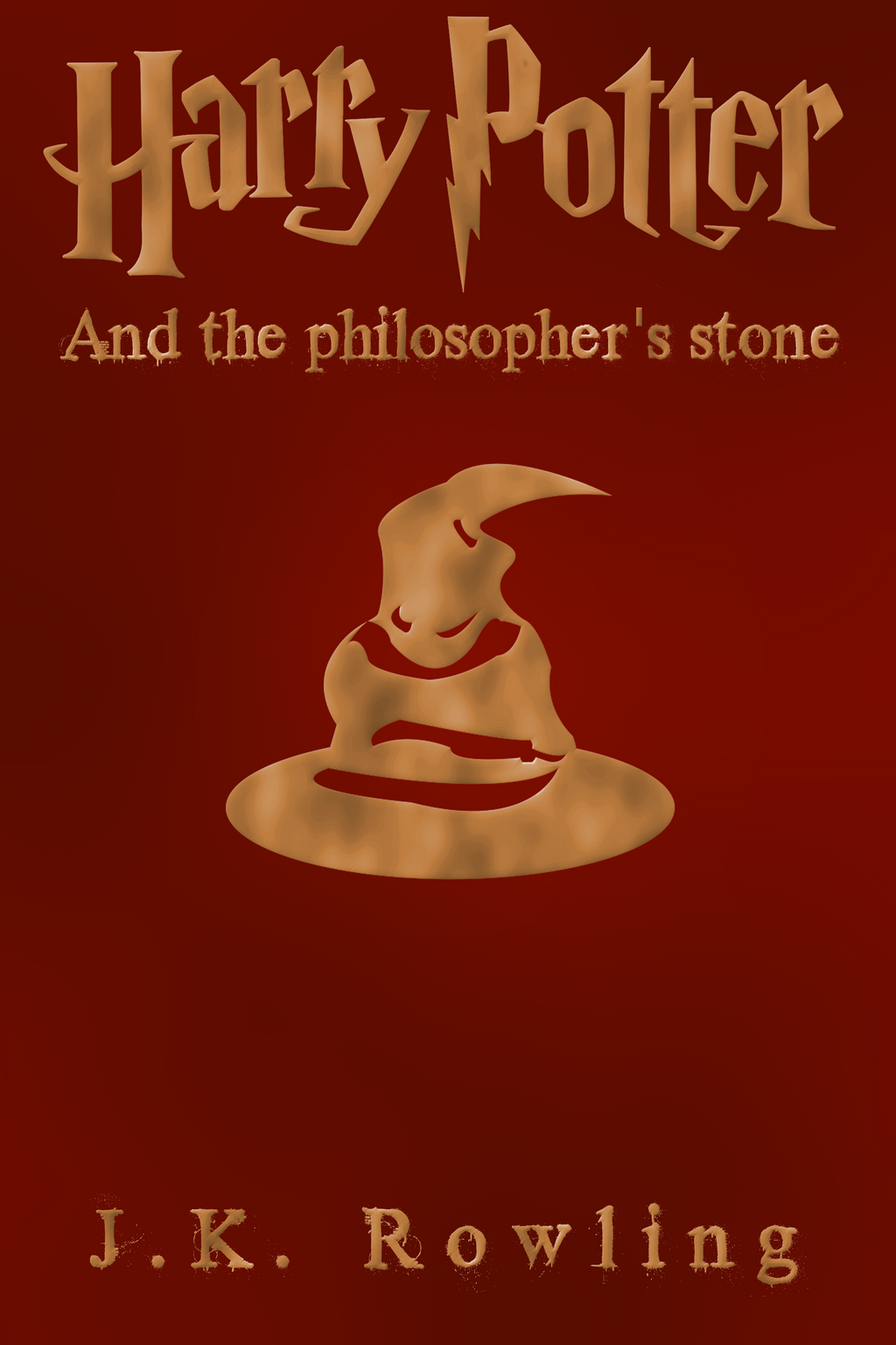 Harry Potter Philosopher S Stone Book Cover ~ Cover for harry potter and the philosopher s stone by