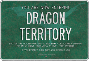 Dragon territory board by RandomVanGloboii