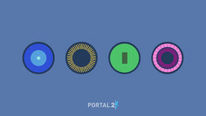 Portal 2 cores HD wallpaper by RandomVanGloboii