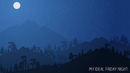 My ideal friday night by RandomVanGloboii