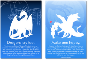 Dragons cry too. Make one happy.