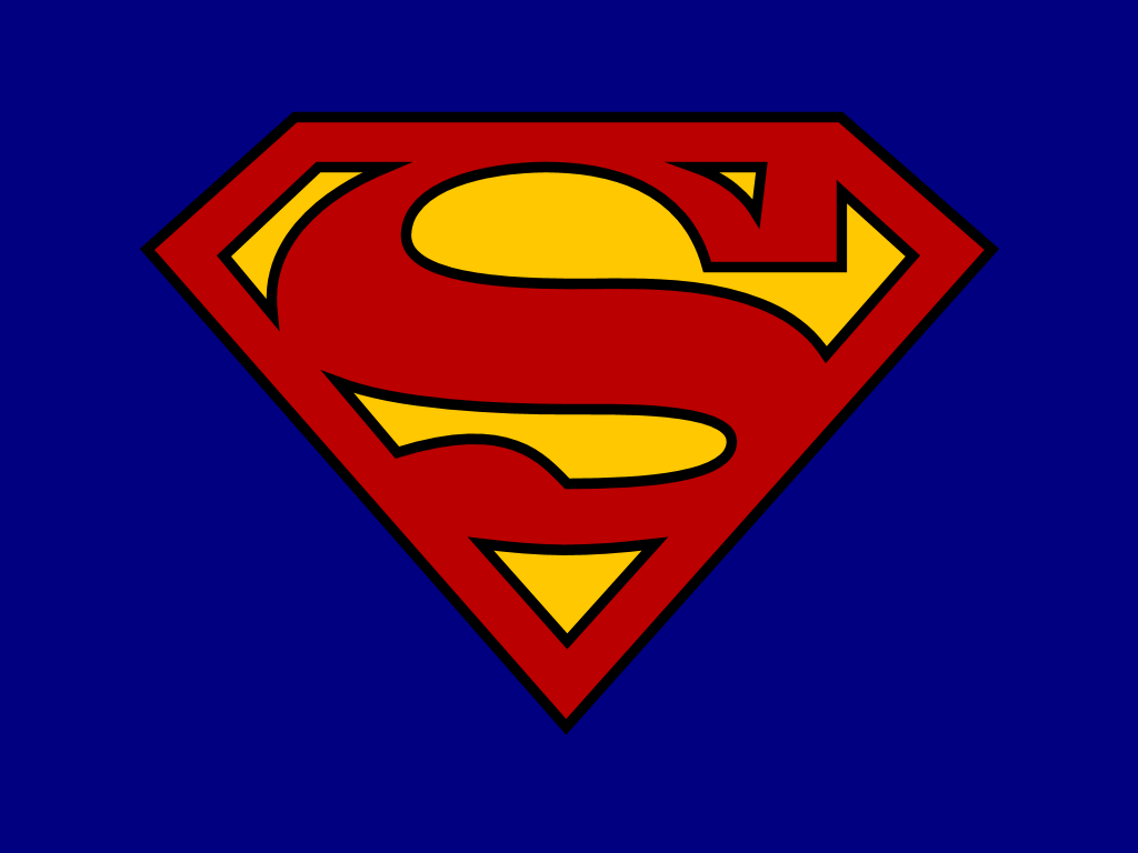 Lively image pertaining to printable superman logos