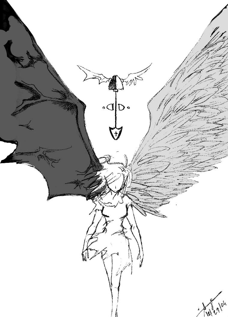 angels and demons by oblivious-life on DeviantArt