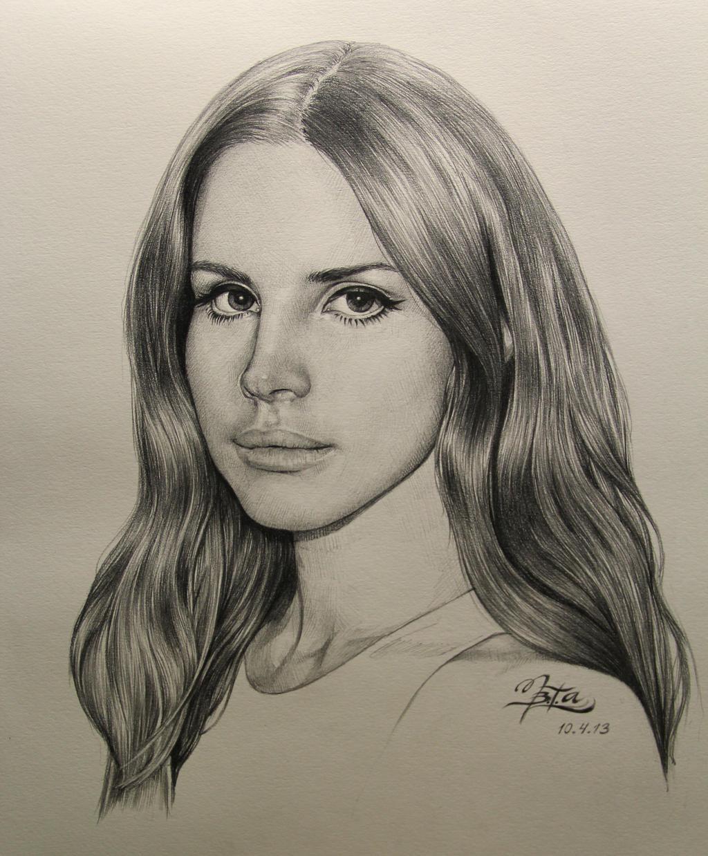 Lana Del Rey by chingybta on DeviantArt