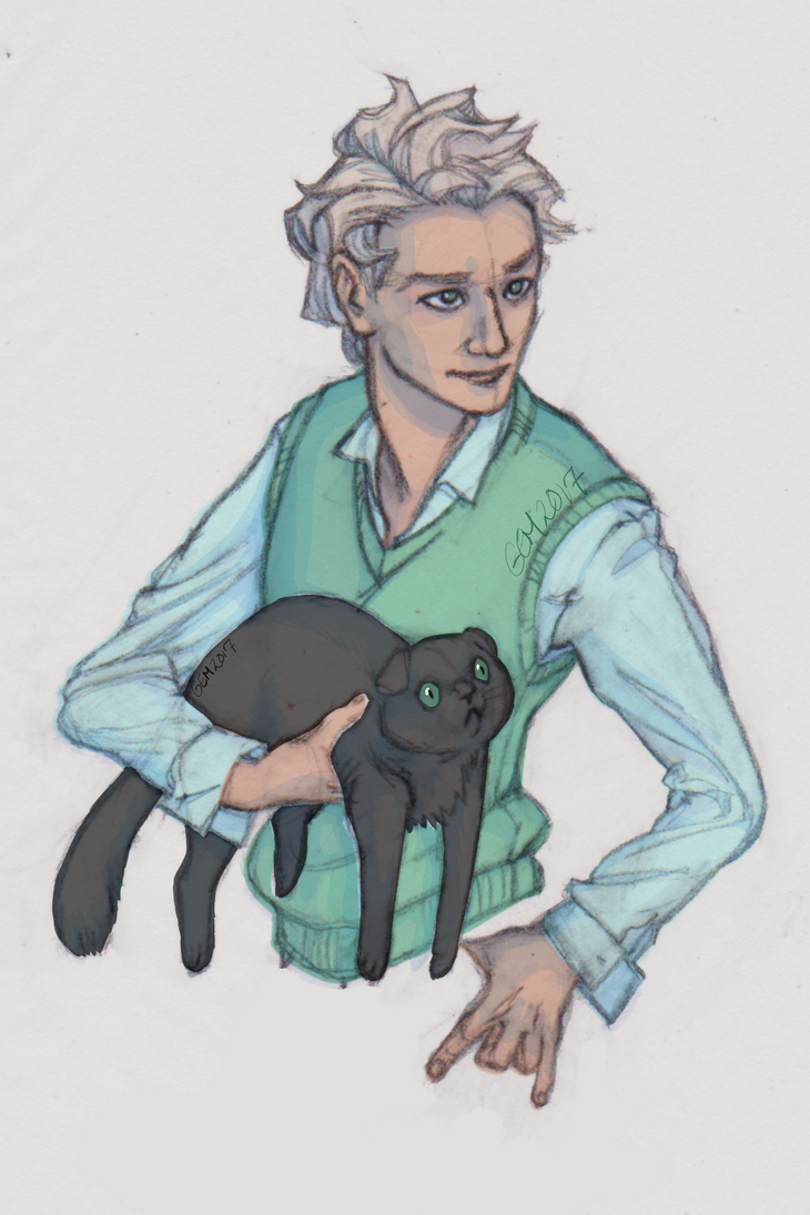 Guy and Cat by GemStudios