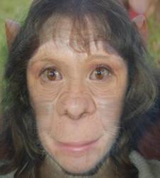chimp girl