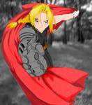 Edward Elric (Colored)
