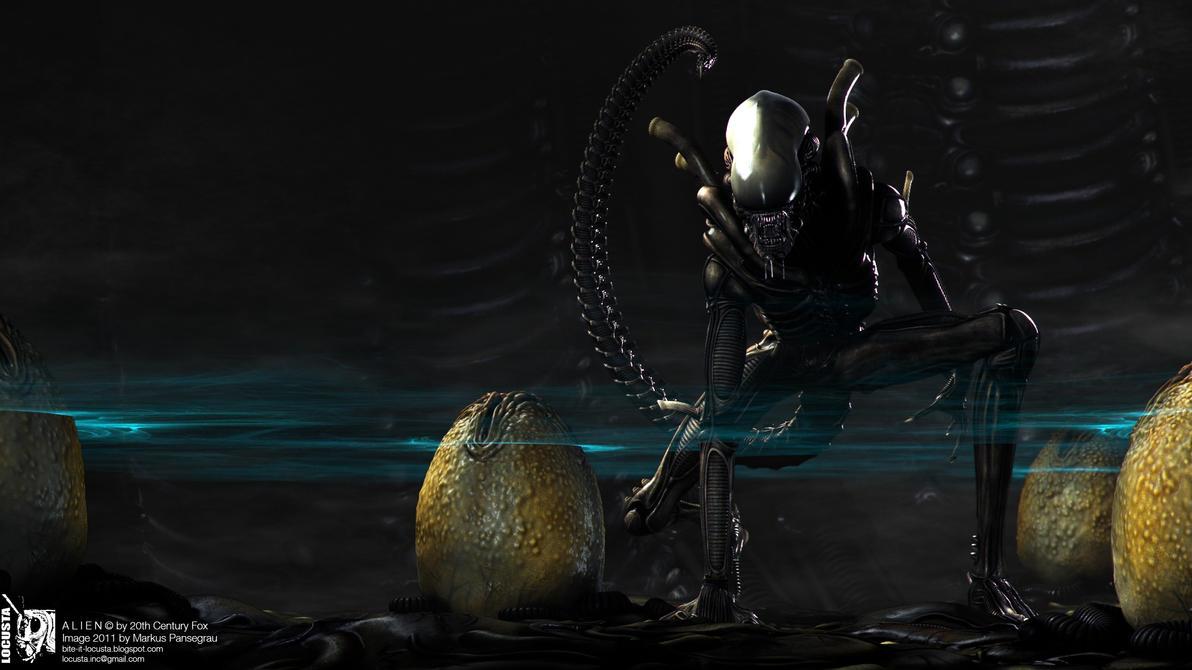 Cgi alien creature adult girls