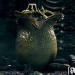 ALIEN egg and facehugger CGI