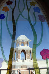 Temple Through Stained Glass by i3lackcatMau