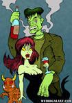 Frankenstein- Satans Daughter