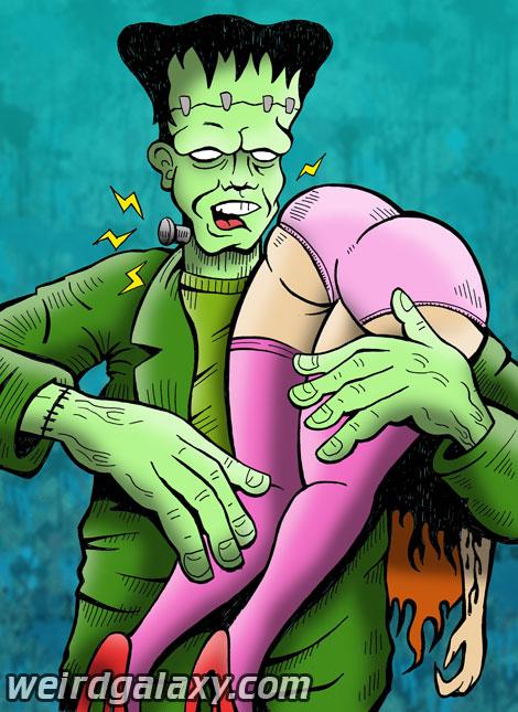 Frankenstein's Playmate by RossRadiation