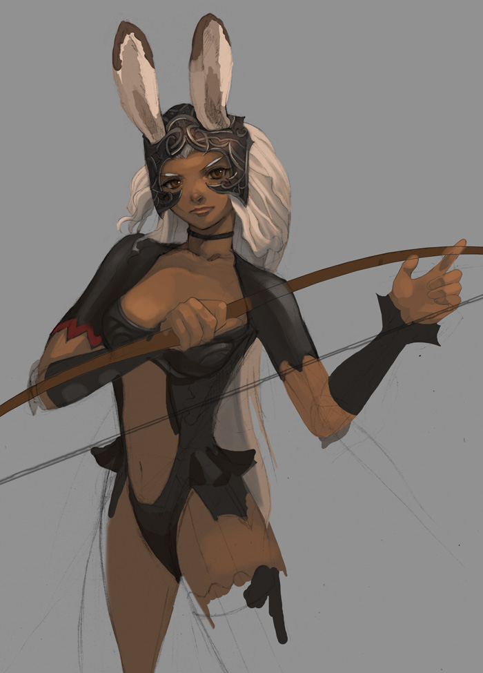 Final Fantasy XII Fran WIP by lingy on DeviantArt