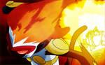 Ash' Infernape Flare Blitz