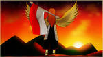 Golden Wings of The Red and White