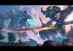 Omega Ronin - PacificRim FanArt Contest - MoonYeah