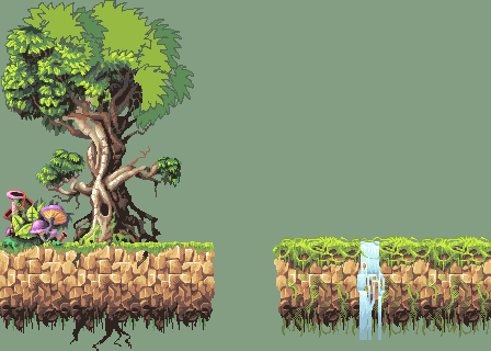 Forest tiles and stuff by Shadowwwolf
