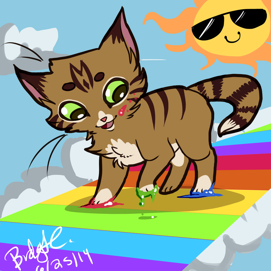 Kittens And Sunshine And Rainbows by Chemical-Flicker