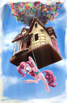 Gingerbread House With Pinkie Pie