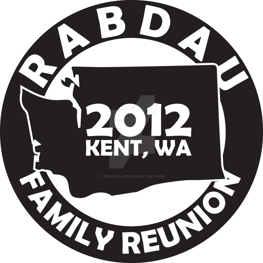 family reunion logo by trustinlies on deviantart