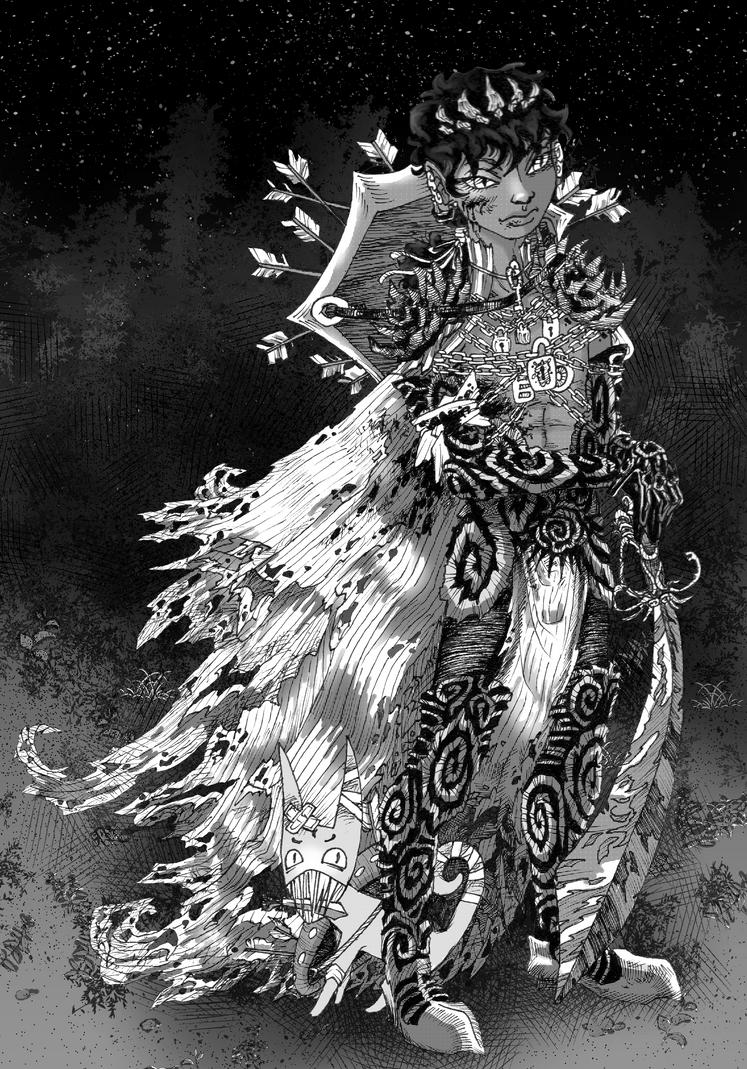Edrear the Knight by AMNystr0m