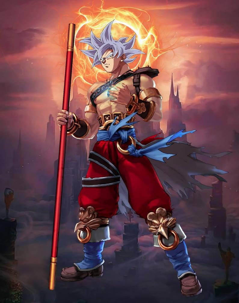 Son Goku by SatZBoom on DeviantArt