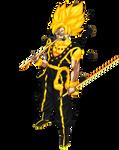 Goku Kyuubi mode