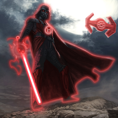 Red Lantern: Darth Vader by ComicMultiverse