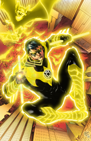 Sinestro Corps: Nightwing by ComicMultiverse
