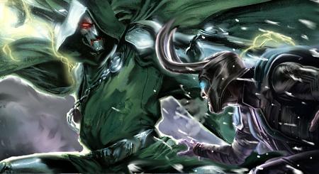 Dr. Doom Vs Loki by ComicMultiverse